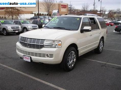 for sale 2007 passenger car lincoln navigator ultimate elite nav dvd moon thx chr clifton for sale 2007 passenger car lincoln navigator ultimate elite nav dvd moon thx chr clifton