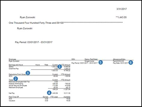 Payroll 101 Quickbooks Learn Support Intuit Pay Stub Template