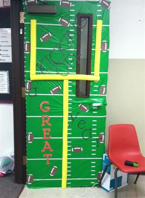 sports themed door decorations top 25 best sports theme classroom ideas on
