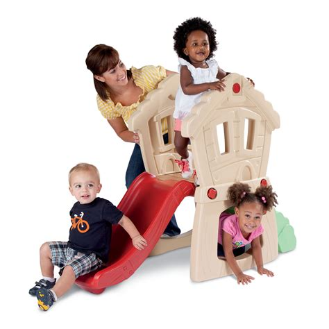 little tikes hide n seek climber and swing little tikes hide seek climber playhouse furniture at