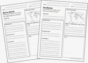 animal report template animal report form printable