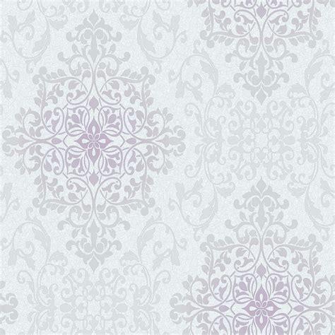 grey wallpaper b m nella damask wallpaper grey wallpaper b m