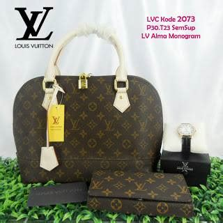 Tas Wanita Louis Vuitton Lv Alma 1 tas lv alma louis vuitton grosir harga murah 2073