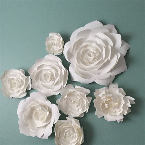 flowers for home decor paperflora paper flower walls backdrops and home decor