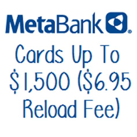Metabank Gift Card - metabank gift cards available online 1 000 denominations 4 95 fee doctor of credit
