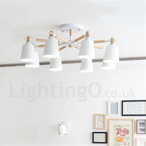 contemporary chandeliers for living room 8 light modern contemporary wood led chandelier for