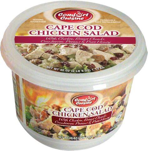 costco cape cod 2 lbs container of comfort cuisine cape cod chicken salad