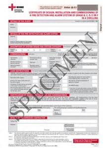 alarm installation certificate template niceic alarm part 6 commissioning certificate fill