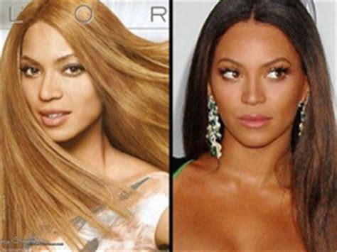 beyonce skin color the hoax photo archive color adjustment