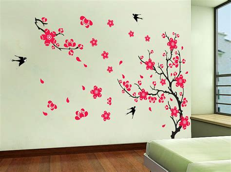 wall paintings 20 flowers wall art image