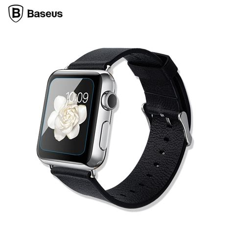 Tempered Glass Apple 1 2 3 42mm Or 38mm baseus ultra thin 0 15mm tempered glass for apple