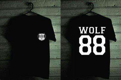 Kaos Tshirt Exo Overdose Hitam open po jaket varsity exo wolf 88 kaos exo wolf 88 mygeeworld