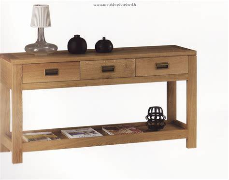 console it console moderne en bois massif meuble console d entr 233 e en