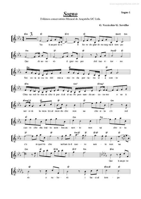 tutorial piano vivo por ella super partituras sogno andrea bocelli g servilho g