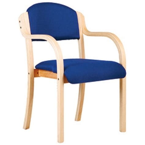 stackable armchairs beech framed stackable armchair in blue or black