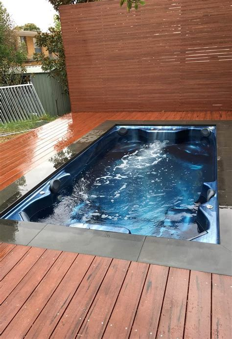 Spa De Nage 444 by 1000 Ideas About Outdoor Spa On Tubs