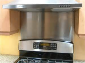 stainless steel backsplash stove all forward afg corporation hoods