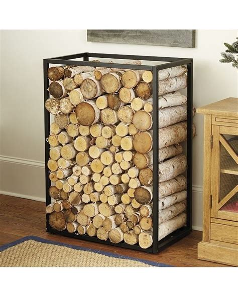 Fireplace Holders by Best 25 Log Holder Ideas On Fireplace