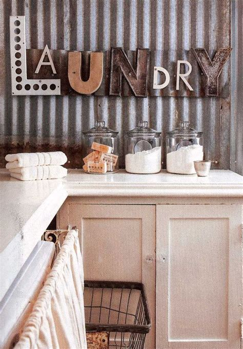 Laundry Letters by Diy Projects With Letters The Budget Decorator