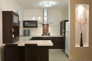Modern Kitchen Wood Cabinets by Pictures Of Kitchens Modern Dark Wood Kitchens