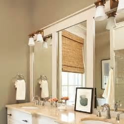 Bathroom Mirror Trim Ideas 13 Craft A Paneled Overlay 28 Ways To Refresh Your Bath