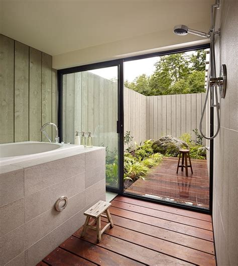 awesome outdoor bathroom furniture design