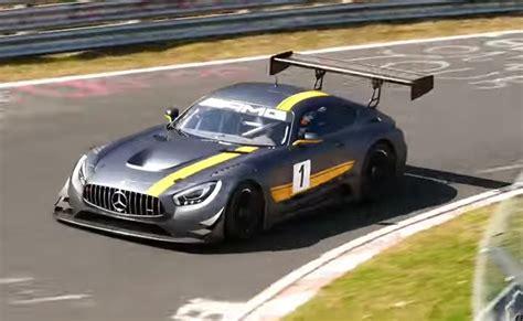 2016 Mercedes AMG GT3 hits the Nürburgring