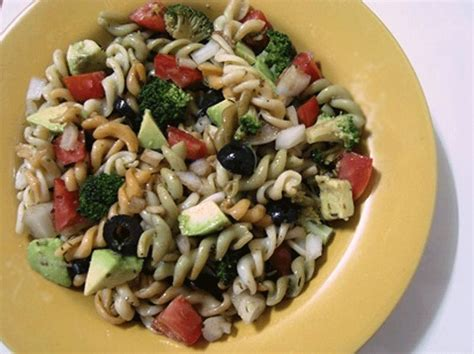 easy pasta salad recipe easy vegetarian and vegan italian pasta salad recipe