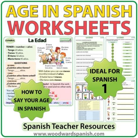 how to say worksheet in age worksheets