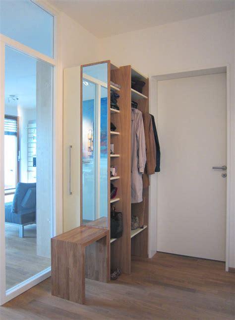 beleuchtung umkleidekabine garderobe mit schuhschrank modern eingang k 246 ln