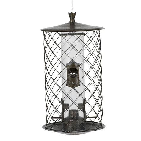 preserve feeder squirrel proof bird feeder metal finish