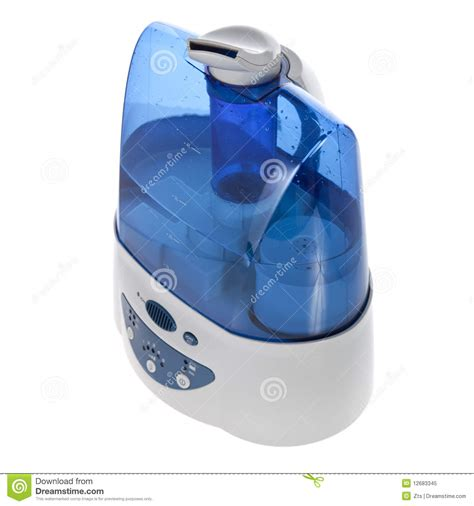 humidifier with ionic air purifier isolated royalty free stock photo image 12683345