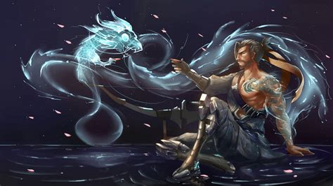 wallpaper abyss games hanzo wallpapers wallpaper cave
