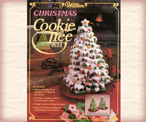 wilton christmas cookie tree kit cookie cutters