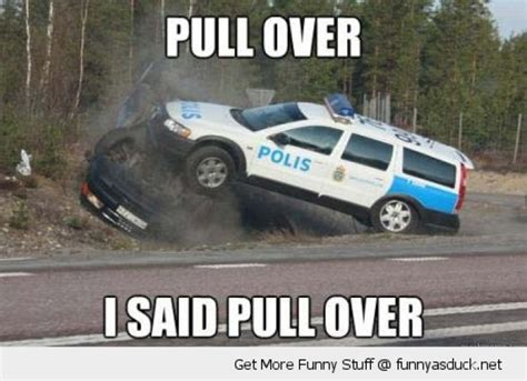 Car Crash Meme - cop muscle car topples the bandit s car meme your friends