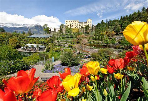 giardini sissi merano giardini di castel trauttmansdorff l orto botanico di merano