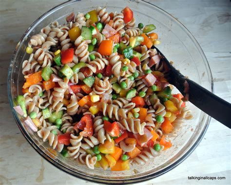 easy pasta salad quick and easy pasta salad talking in all caps