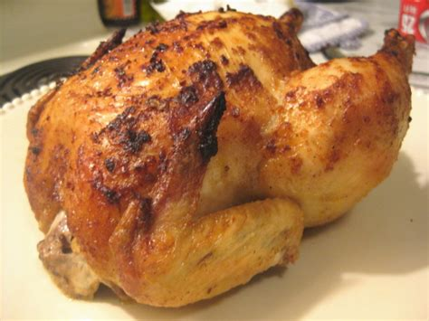 roast whole chicken kittencals best blasted rapid roast whole chicken recipe