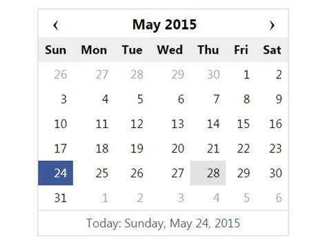 Simple Calendar Simple Jquery Calendar And Date Picker Plugin Dcalendar