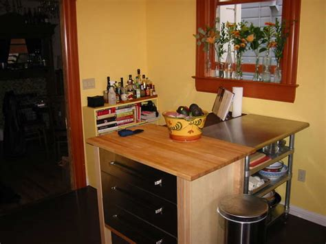 Kitchen Table With Storage by Counter Height Kitchen Table With Storage Photo 3
