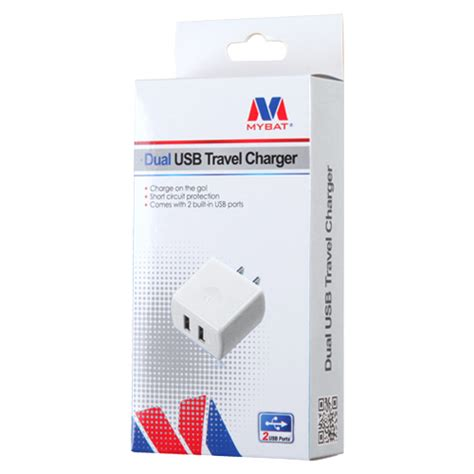 Travel Charger Fdt 2 1 A 2output 2 1a fast rapid charging travel wall charger dual usb