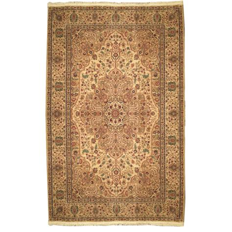 Karastan Traditional Gold Red Green Brown Wool Rug 4646 Traditional Rug