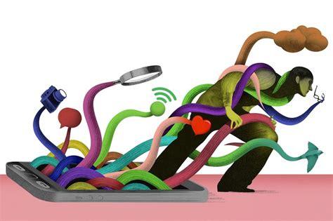Digital Detox Illustrations by Is It Time For A Digital Detox Wsj