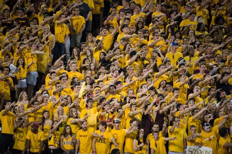 arizona state student section the fray to perform at sun devil stadium following wsu vs