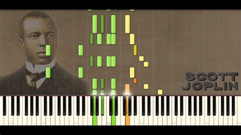 tutorial piano ragtime scott joplin piano rags reflection rag syncopated