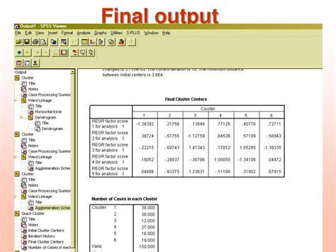 tutorial spss ppt ppt spss tutorial powerpoint presentation id 1320768