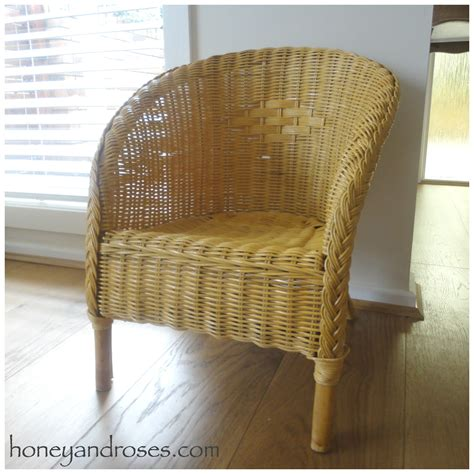 wicker recliners how to paint a wicker chair with chalk paint 171 honey roses