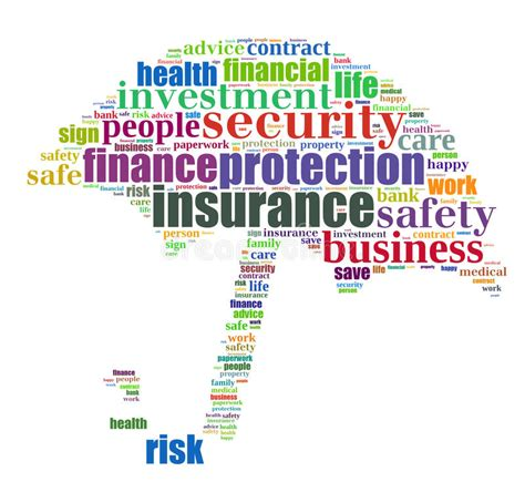 Insurance Info-text Graphic Stock Illustration - Image ...