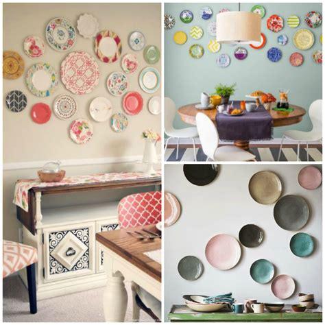 ideas para decorar paredes 20 ideas para decorar paredes con platos