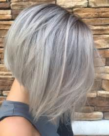 glamorous styles for medium grey hair best 25 concave bob ideas on pinterest graduated bob